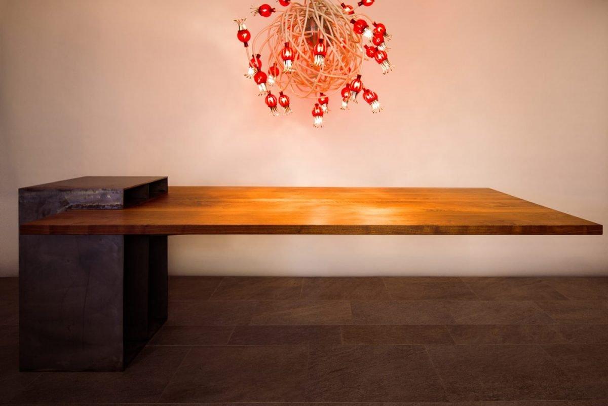 Schuster Innenausbau aus Salach – Esszimmertisch Design