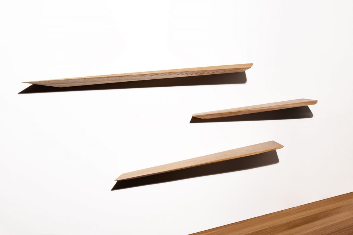 Schuster Innenausbau aus Salach – Fachboden Eiche Passivholz Design