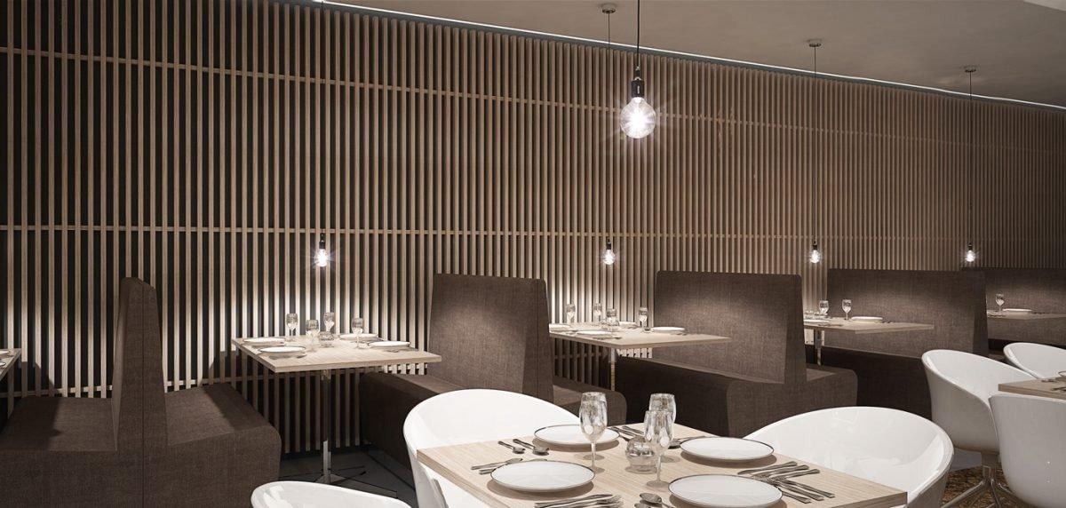 Schuster Innenausbau aus Salach – Restaurant Göppingen hochwertig