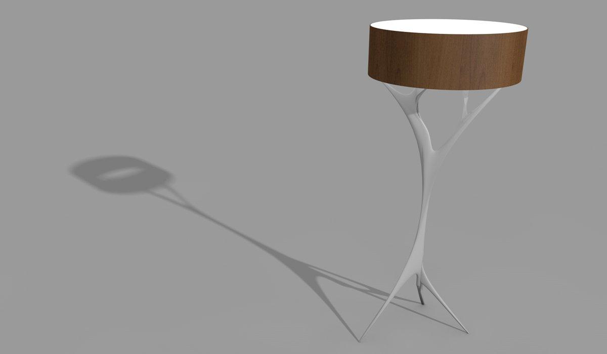 Schuster Innenausbau aus Salach – Stehlampe Design exklusiv