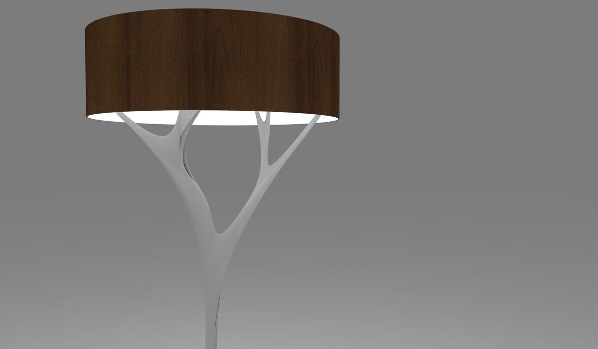 Schuster Innenausbau aus Salach – Stehlampe Design hochwertig