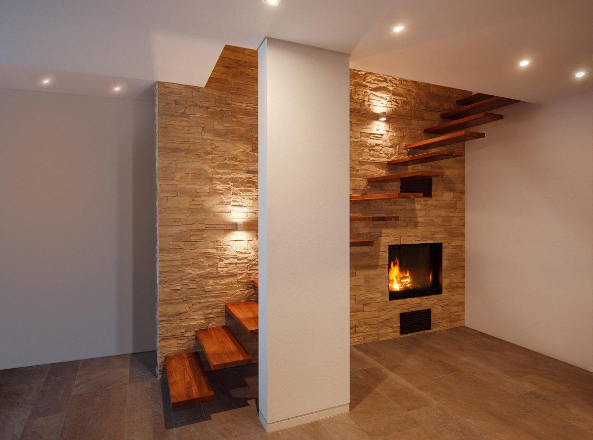 Treppe Design. Awesome Design Treppe Holz Lebendig Aussieht Images ...