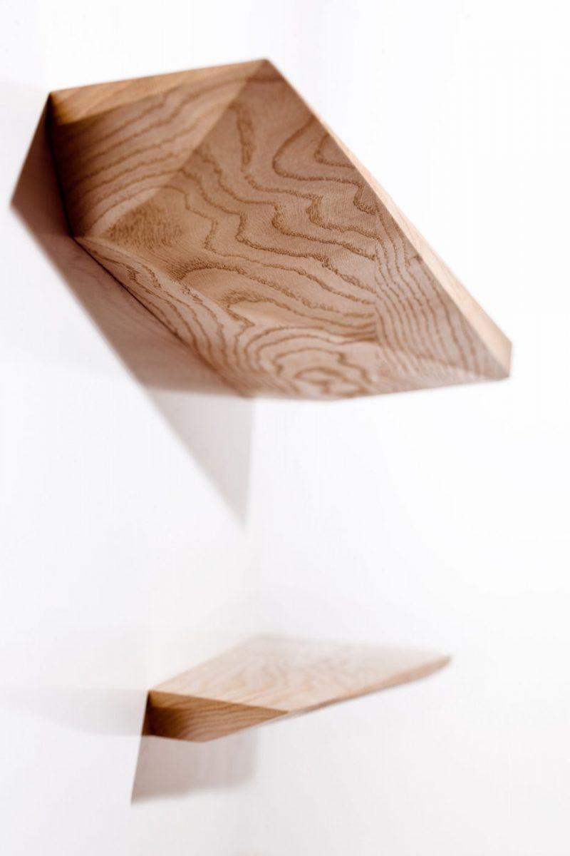 Schuster Innenausbau aus Salach – Wandfachboden Eiche Massivholz exklusiv