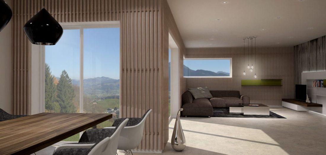 Schuster Innenausbau aus Salach – Loft Innenarchitektur Raumkonzept