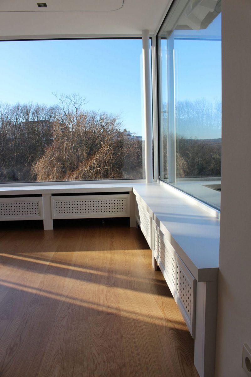 Schuster Innenausbau aus Salach – Moderne Heizkörperverkleidung aus Holz