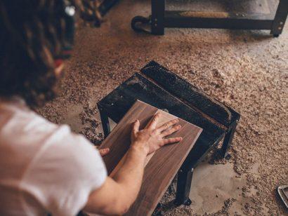 Schuster Innenausbau aus Salach – Schreiner Gesellenstücke von Anke und Joshua