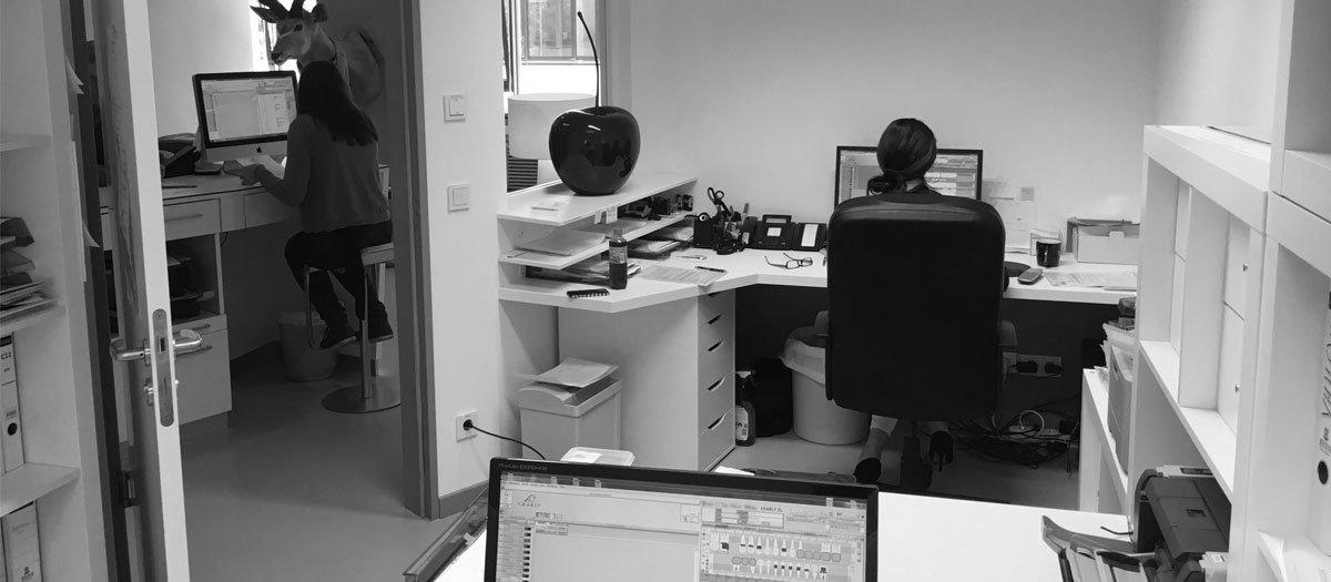 Schuster Innenausbau – Büroraumplanung – Vorher / Nachher