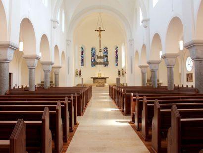 Schuster Innenausbau aus Salach – Restauration der Katholischen Kirche St. Margaretha in Salach Klein