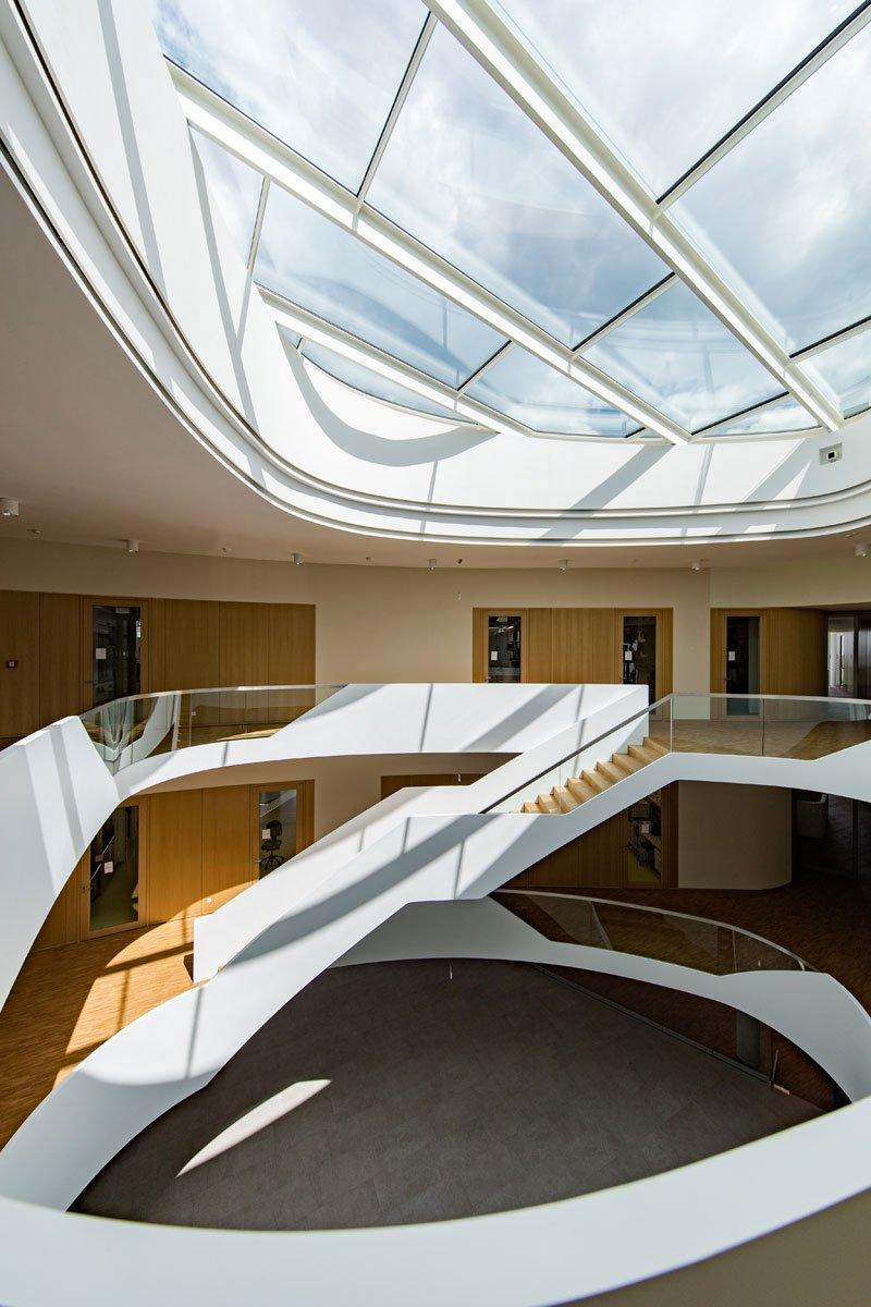 Schuster Innenausbau aus Salach – Innenausbau Laborgebäude in Bad Boll Treppenauge 5
