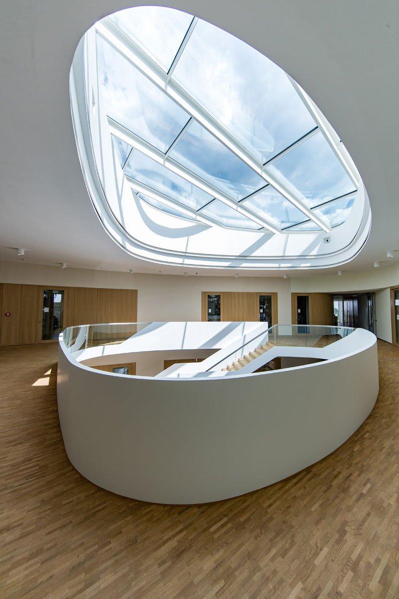 Schuster Innenausbau aus Salach – Innenausbau Laborgebäude in Bad Boll Treppenauge 6