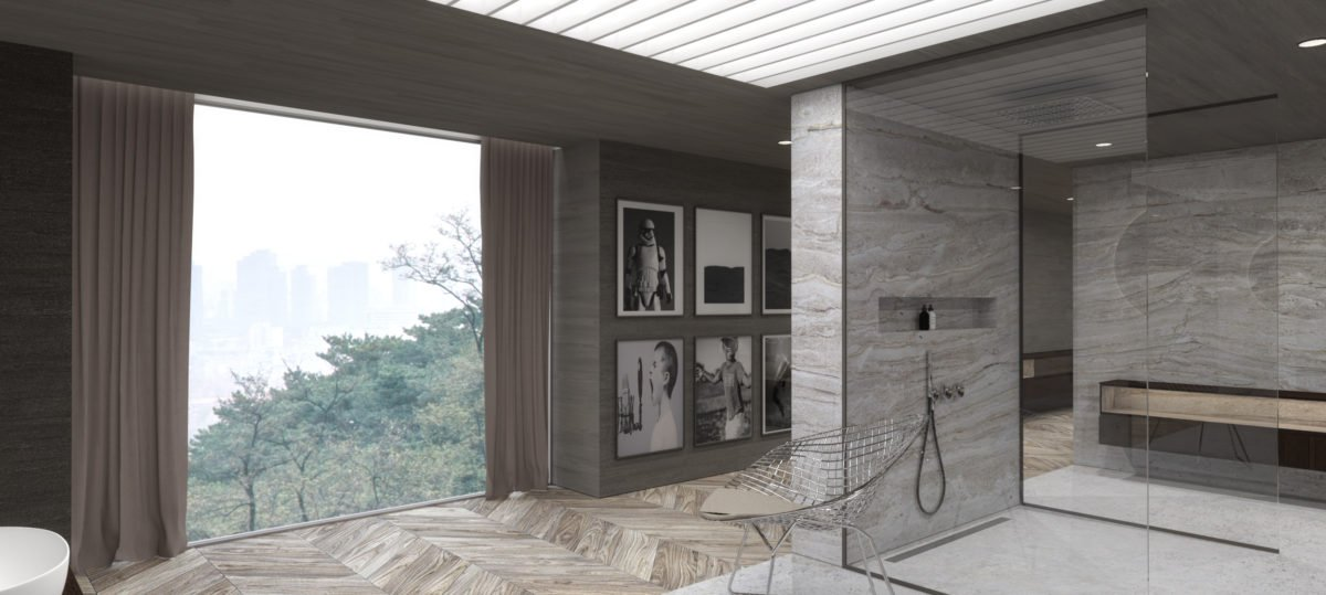 Schuster Innenausbau aus Salach – Exklusive-Innenarchitektur-Loftwohnung-Badezimmer-Design