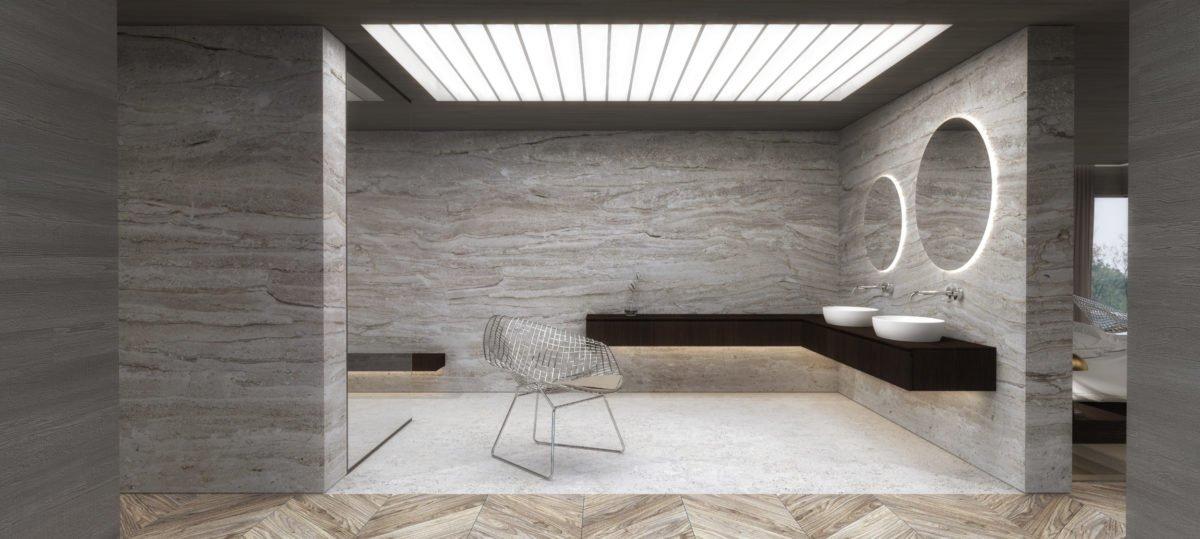 Schuster Innenausbau aus Salach – Exklusive-Innenarchitektur-Loftwohnung-Design-Badezimmer