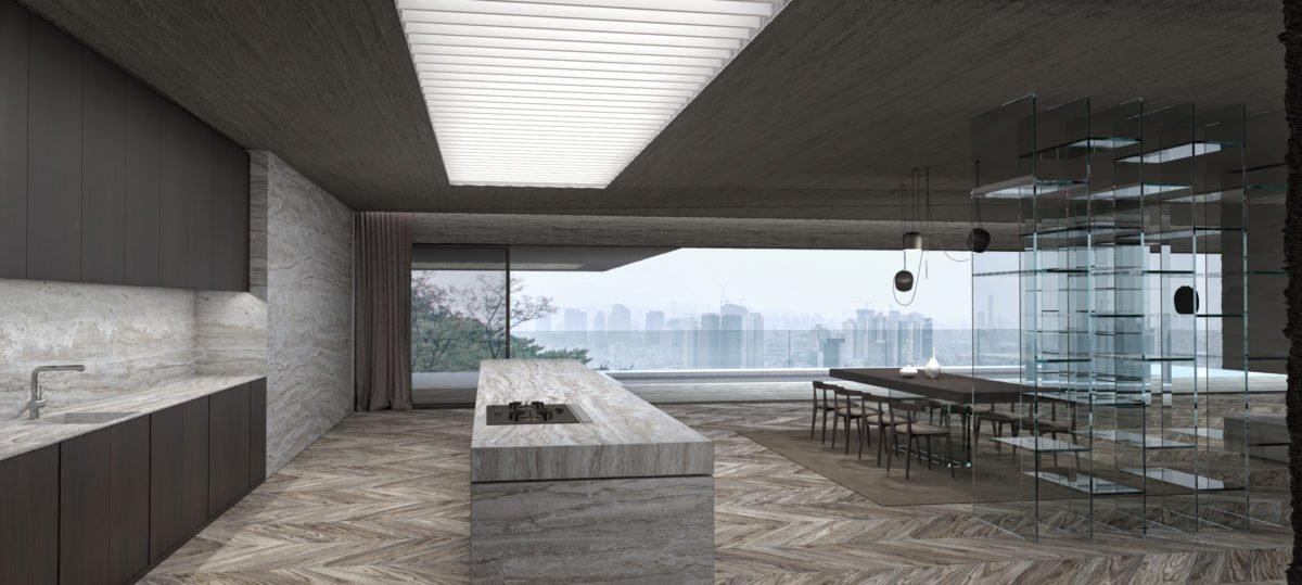 Schuster Innenausbau aus Salach – Exklusive-Innenarchitektur-Loftwohnung-Küche