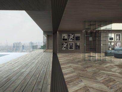 Schuster Innenausbau aus Salach – Exklusive-Innenarchitektur-Loftwohnung-Wohnbereich-Design-1