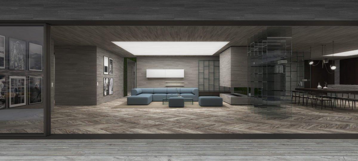Schuster Innenausbau aus Salach – Exklusive-Innenarchitektur-Loftwohnung-Wohnbereich-Wohnzimmer