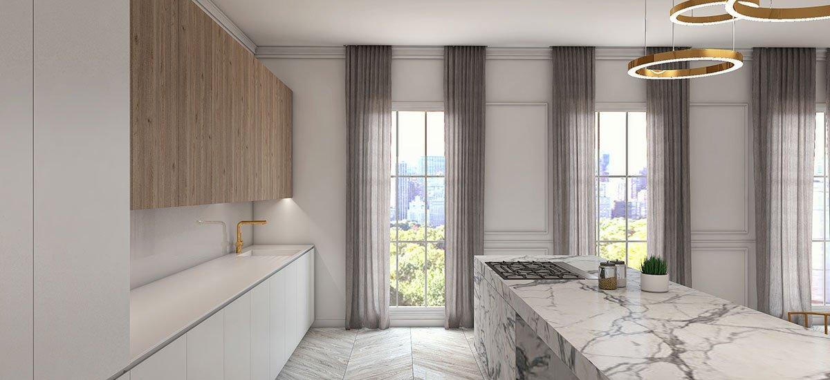 Schuster Innenausbau aus Salach – Exklusives-und-hochwertiges-Küchen-Konzept-in-New-York-Central-Park-1