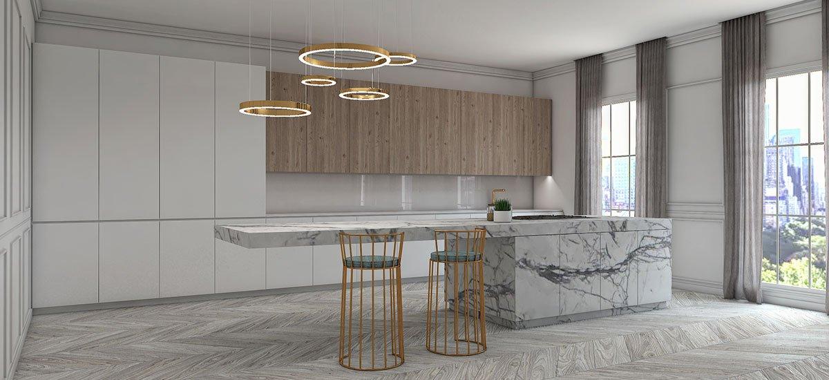 Schuster Innenausbau aus Salach – Exklusives-und-hochwertiges-Küchen-Konzept-in-New-York-Central-Park-3