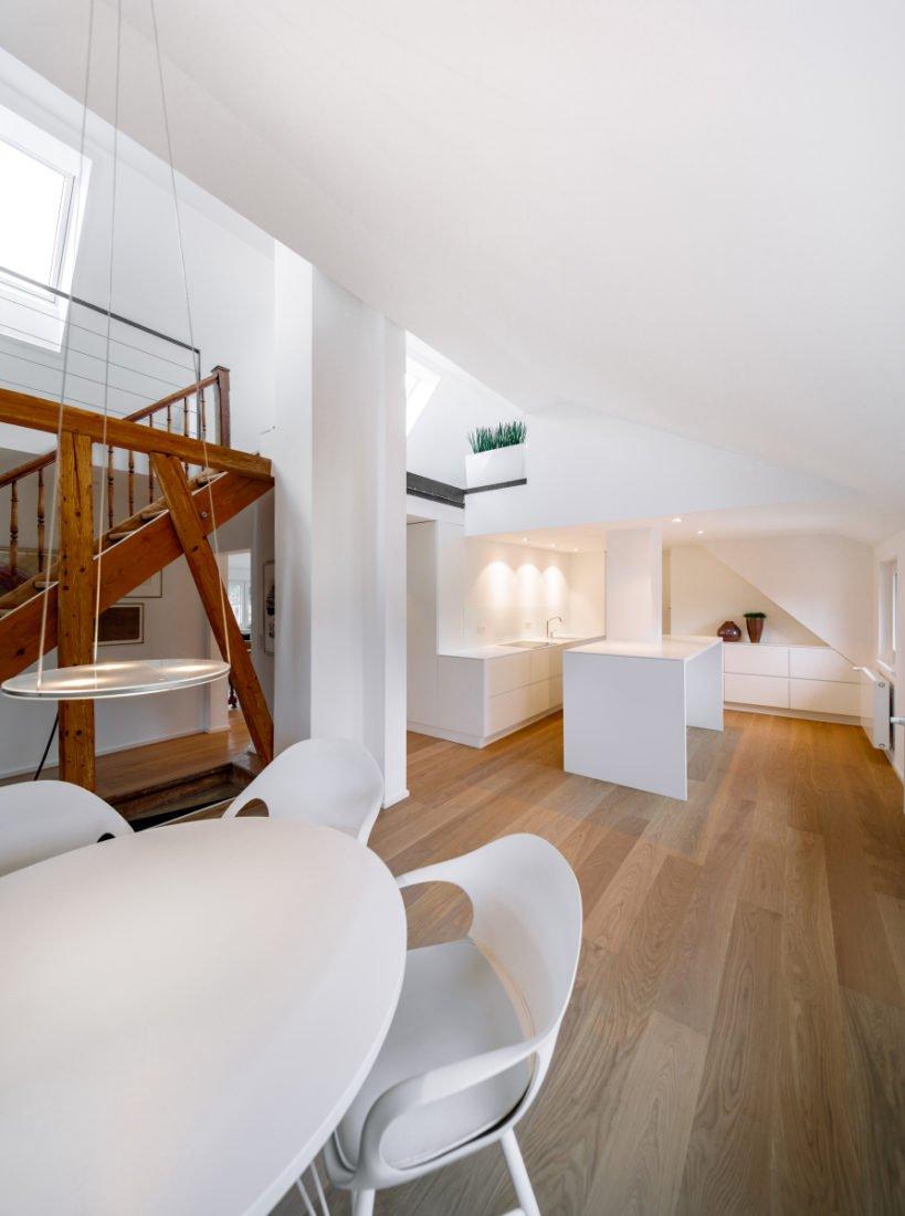 Schuster Innenausbau aus Salach – Küche Innenausbau modern Design Wohnzimmer2