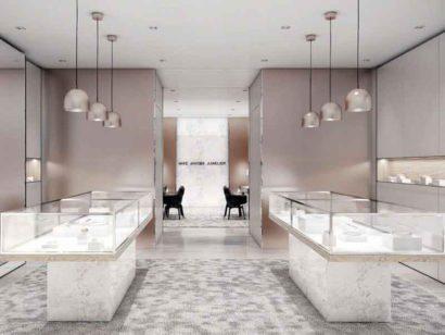 Schuster Innenausbau aus Salach – exklusive-ladenbauplanung-eines-juwelierfachgeschaefts-verkaufsraum