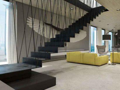 Schuster Innenausbau aus Salach – penthouse-raumkonzept-innenausbau