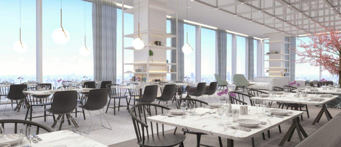 Schuster Innenausbau – Skybar mit Weitsicht – Designerbar über den Wolken