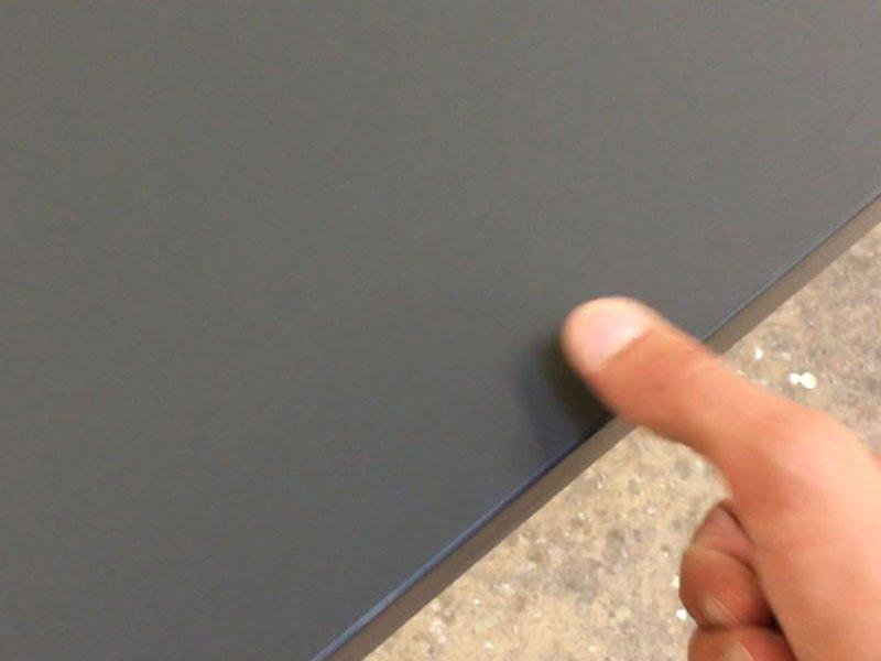 Schuster Innenausbau aus Salach – Antifingerprint Oberfläche in der Küche Innenausbau Möbelbau Header