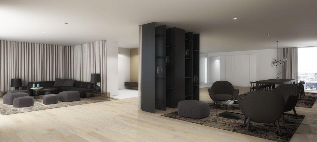 Häufig Offene Designer Wohnung mit Stil in Paris XF47