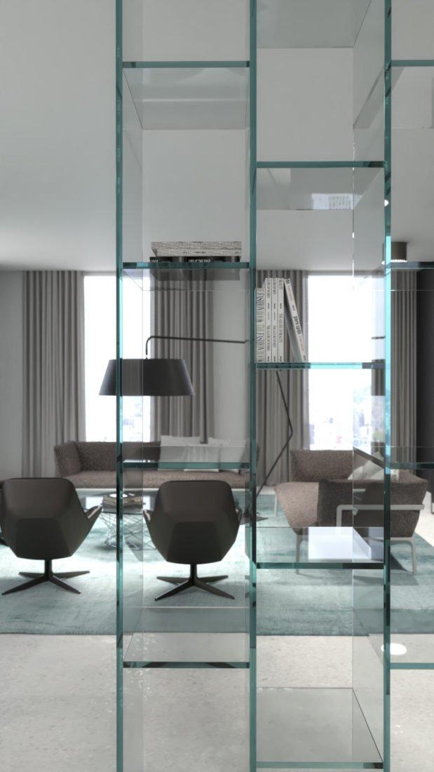 Hochwertiges Interior Design einer Wohnung in München