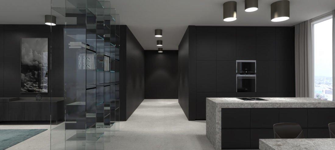 Hochwertiges Interior Design Einer Wohnung In Munchen