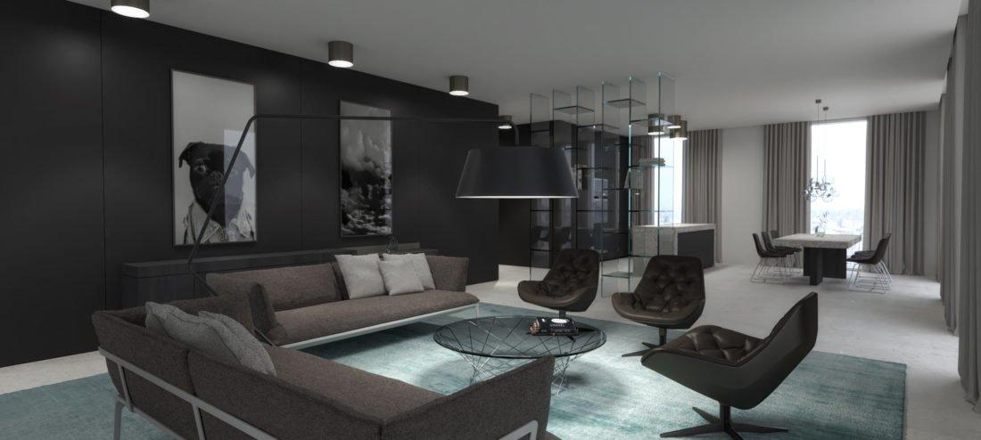 Relativ Hochwertiges Interior Design einer Wohnung in München SE52